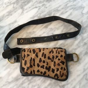 Handbags - Leopard Hip Bag